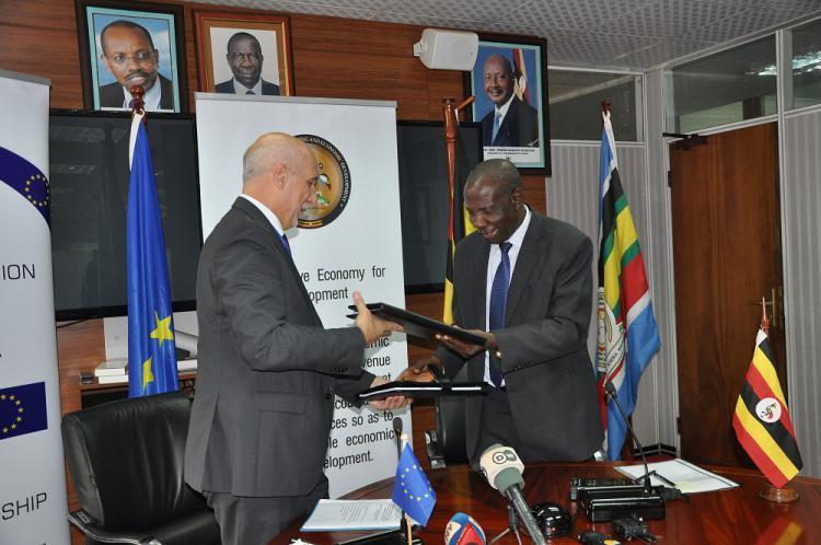 Government of Ugand and European Union sign MOU to revamp Tororo-Gulu Railway